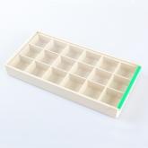 กล่องพลาสติก(แบบ18ช่อง)